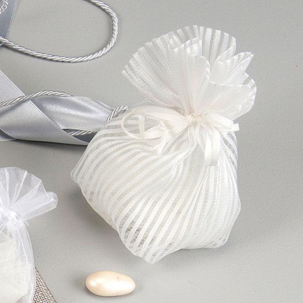 Μπομπονιέρα Γάμου πουγκί (Ρ01590ΓΑ)