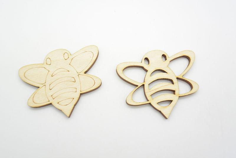 Ξύλινα Διακοσμητικά Μέλισσα (500340)