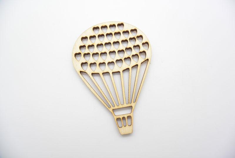 Ξύλινο Διακοσμητικό αερόστατο (5006)
