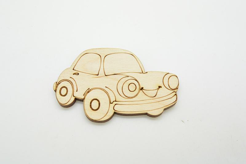 Ξύλινο Διακοσμητικό αυτοκίνητο (011600112)