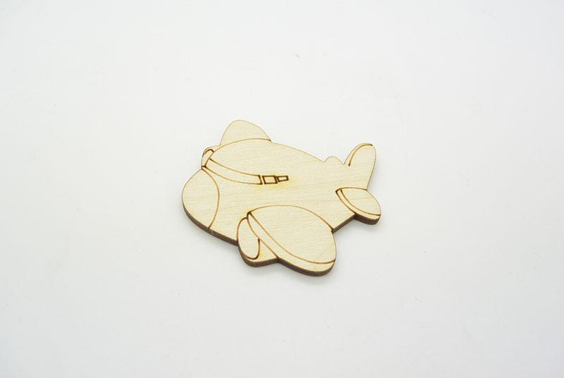 Ξύλινο Διακοσμητικό αεροπλανάκι (011600059)
