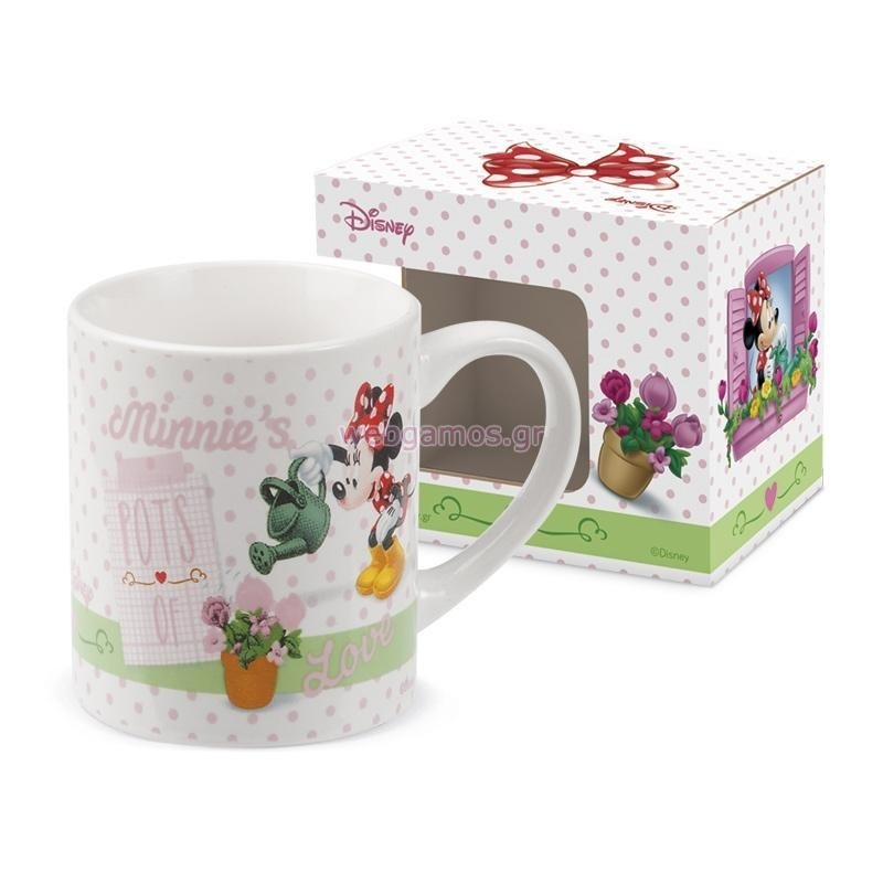 7982a1a617a0 Μπομπονιέρα Κούπα Minnie Λουλούδια (Ν2706)