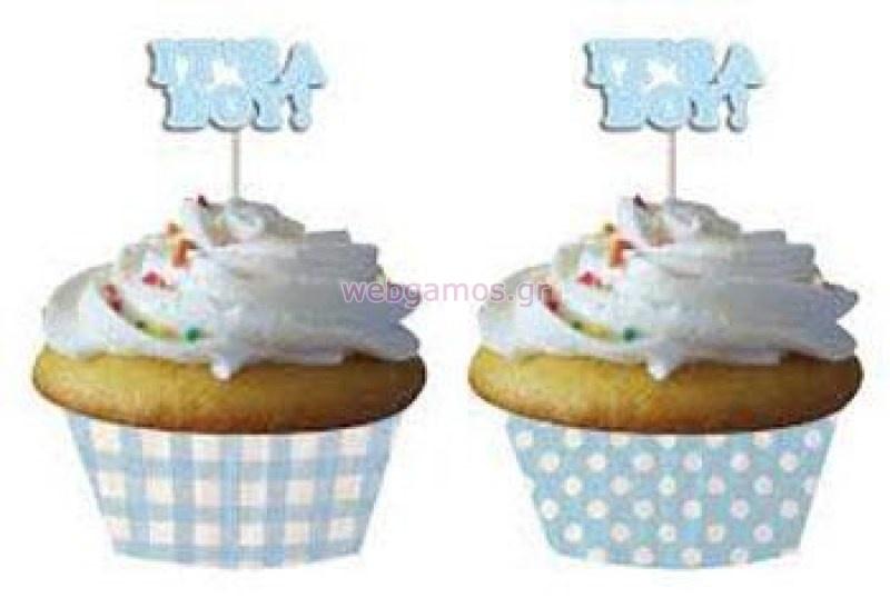 Σετ Συσκευασία Cupcake its a boy (L093238001) 97b1022cadf