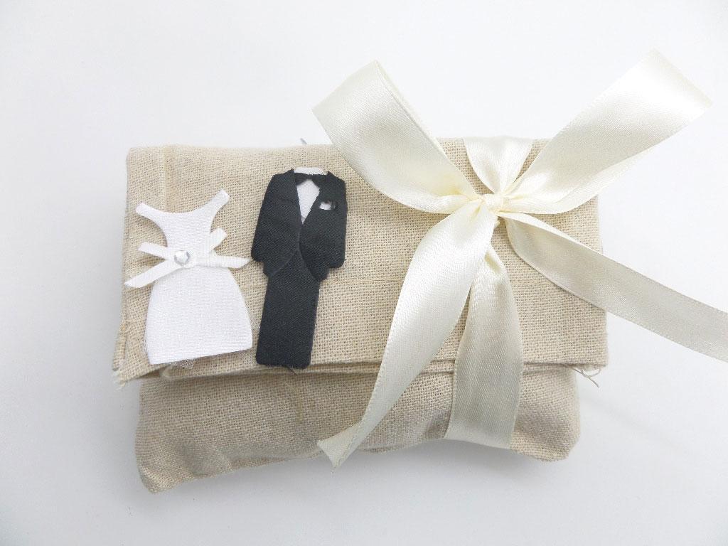 Μπομπονιέρα Γάμου γαμπρός νύφη (527112)
